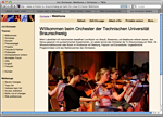 Sample TWiki skin: Orchestra TU Braunschweig in Germany
